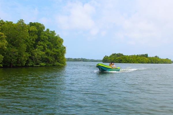 Boat Ride in Madu River