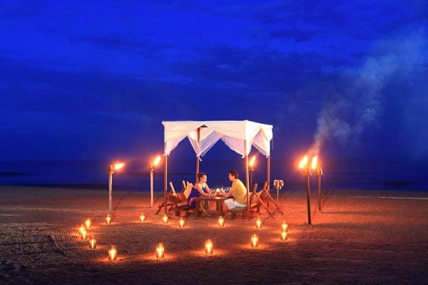 Candle Light Dinner at Negombo