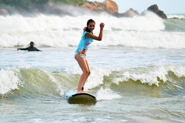 Surf in Weligama